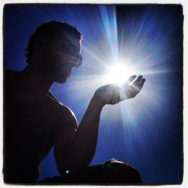Josue with the sun
