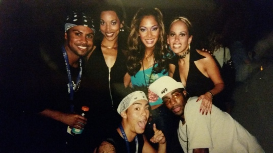 'NSYNC tour with Philip Lawrence, Dante Thomas and Nicole Scherzinger